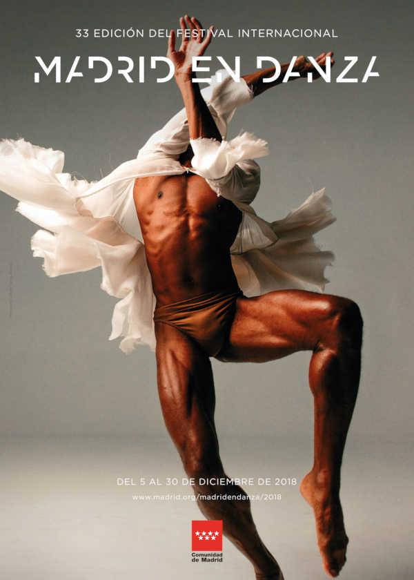 cartelera El destacamento rojo de mujeres , del Ballet Nacional de China en los Teatros del Canal