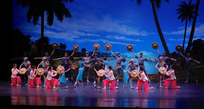 cartelera El destacamento rojo de mujeres, Ballet Nacional de China en los Teatros del Canal